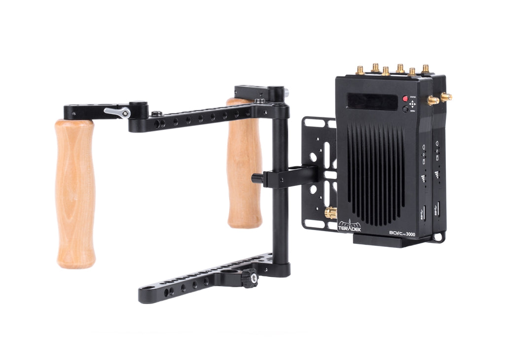 Director's Monitor Cage v2 (Dual Teradek Wireless Receiver Kit)