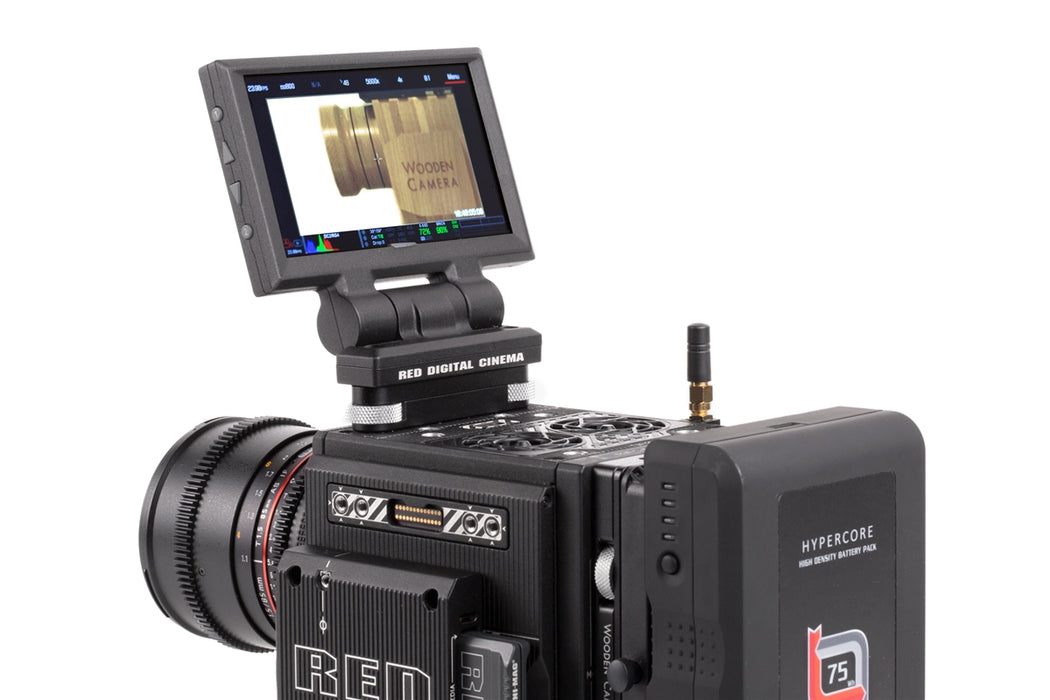 Tool-less LCD/EVF Adapter (RED DSMC2)