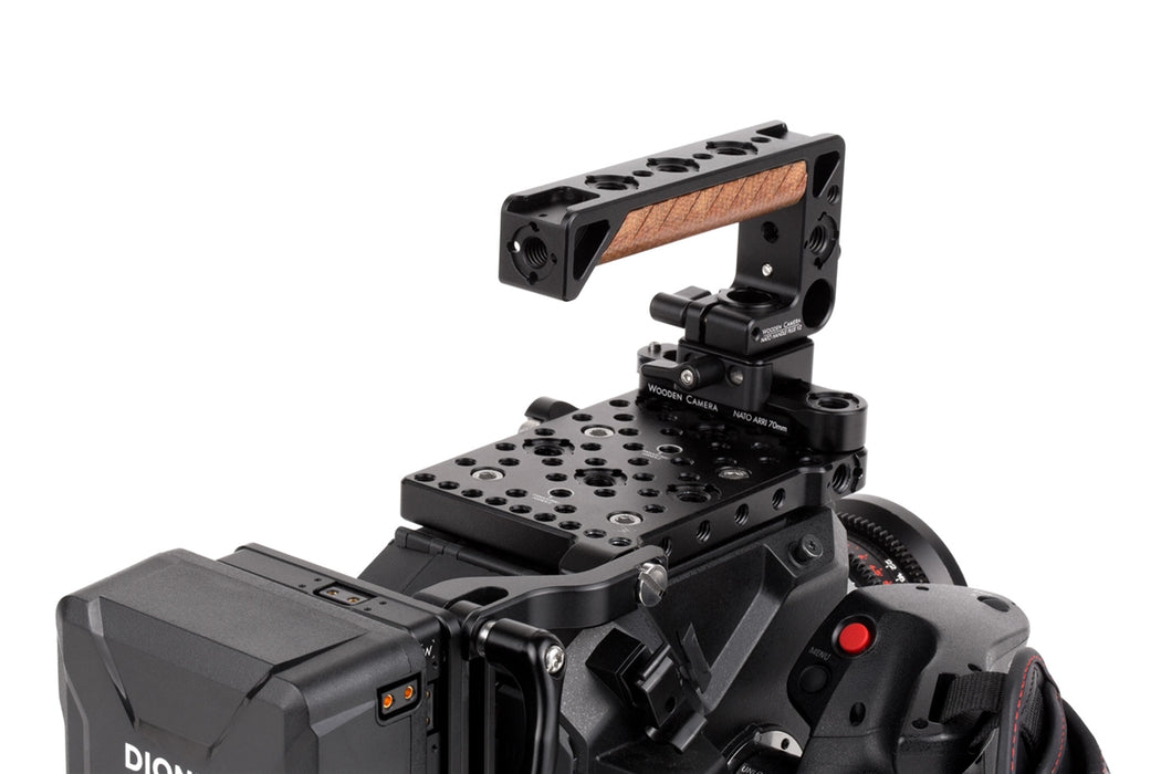 "NATO Handle Plus V2 Kit (NATO ARRI 70mm Rail, 1.67"" Screw Channel)"
