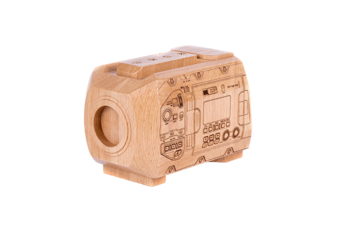 Wood Blackmagic Ursa Mini Pro Model