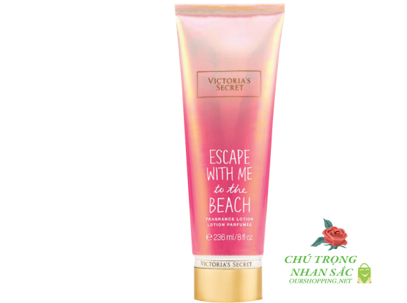 Kem Dưỡng Thể Lotion Victoria Secret Escape with me to the Beach 236 ml