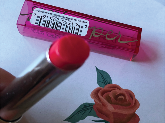 Son Môi Lipstick Maybelline Whisper Cherry on Top - Sắc Màu Cherry