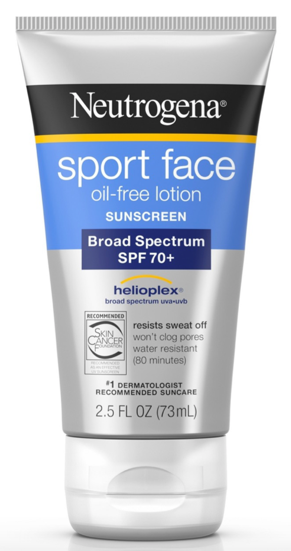 Kem Chống Nắng Neutrogena Sport Face Oil Free Lotion SPF 70+ 73ml