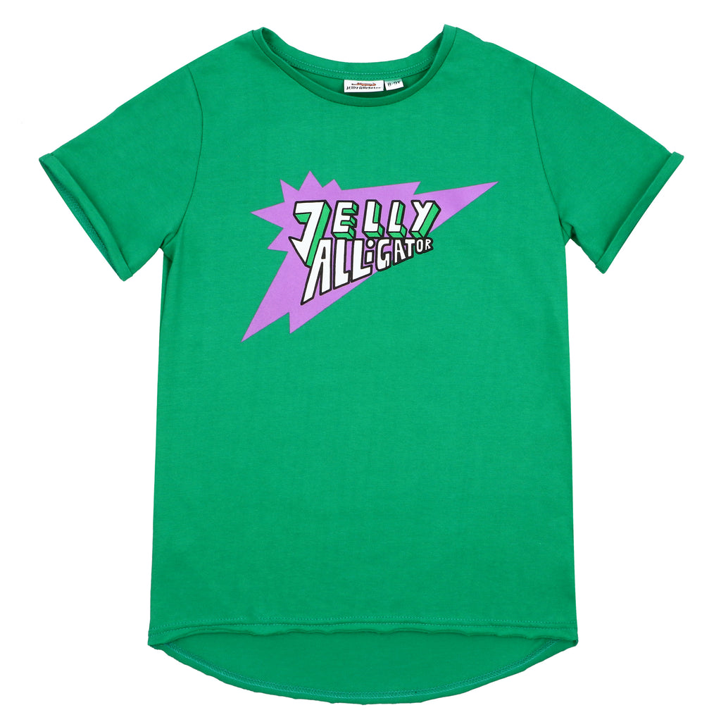 Jelly Alligator Green Short Sleeve Tee