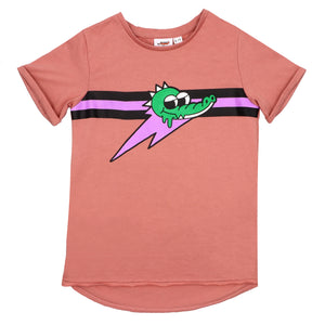 Jelly Alligator Pink Short Sleeve Tee