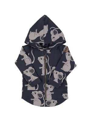 Navy Mouse Hoodie- Dear Sophie