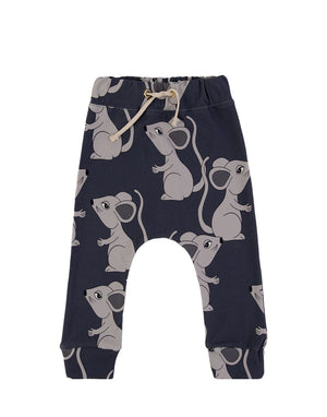 Navy Mouse Pants- Dear Sophie