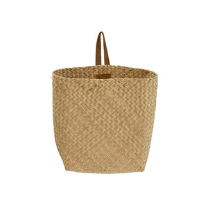 Hanging book basket, Olli Ella, Planter, Natural weaved hanging basket