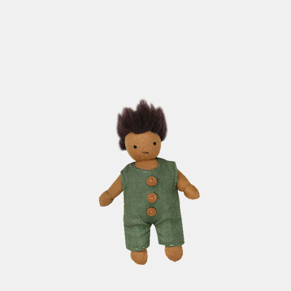 Kids Holdie doll, black, olli ella, moss, mixed race