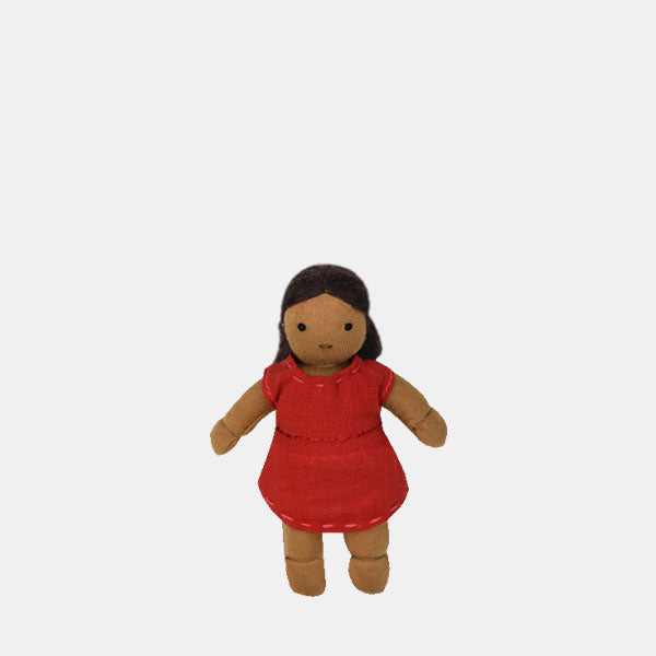 Kids hold doll, Mixed race doll, Wren, Olli Ella