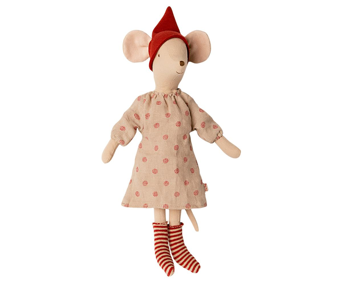 *Preorder* Maileg - Christmas clothes for Medium Mouse - Girl