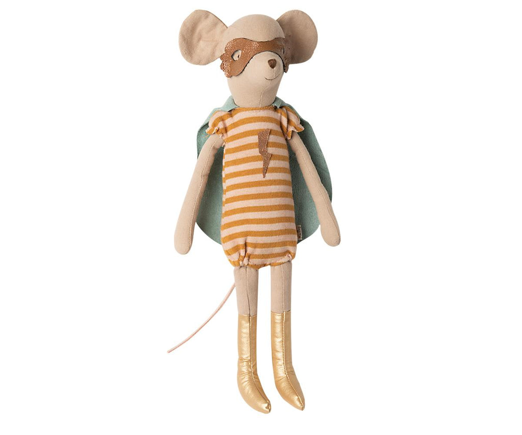 Maileg - Super Hero Mouse Medium - Girl