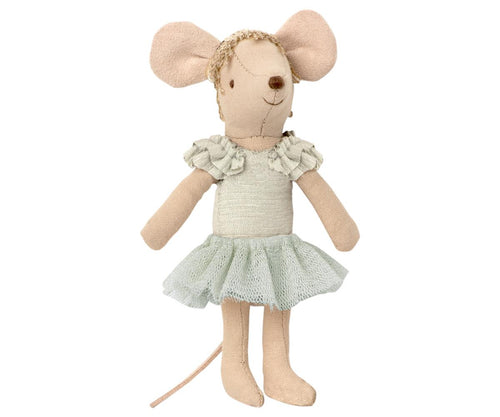 Maileg mouse little brother in box, kids toy mouse