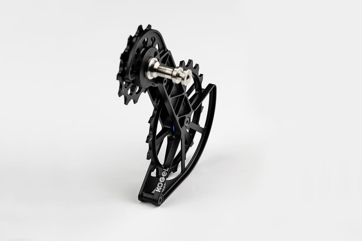 Kolossos Oversized Derailleur Cage for Shimano Dura Ace R9100 and Ultegra R8000