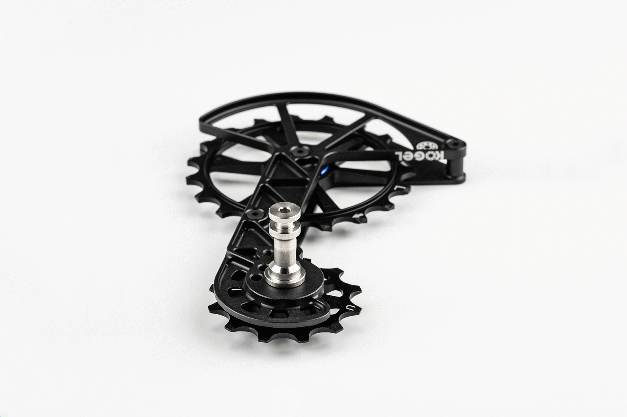 Kolossos Oversized Derailleur Cage for Shimano GRX and Ultegra RX800 - Black