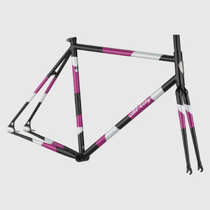 Big Block Frameset - Midnight/Frost/Violet