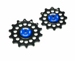 12/14T Oversized Pulleys for Shimano R9100 - Full Ceramic