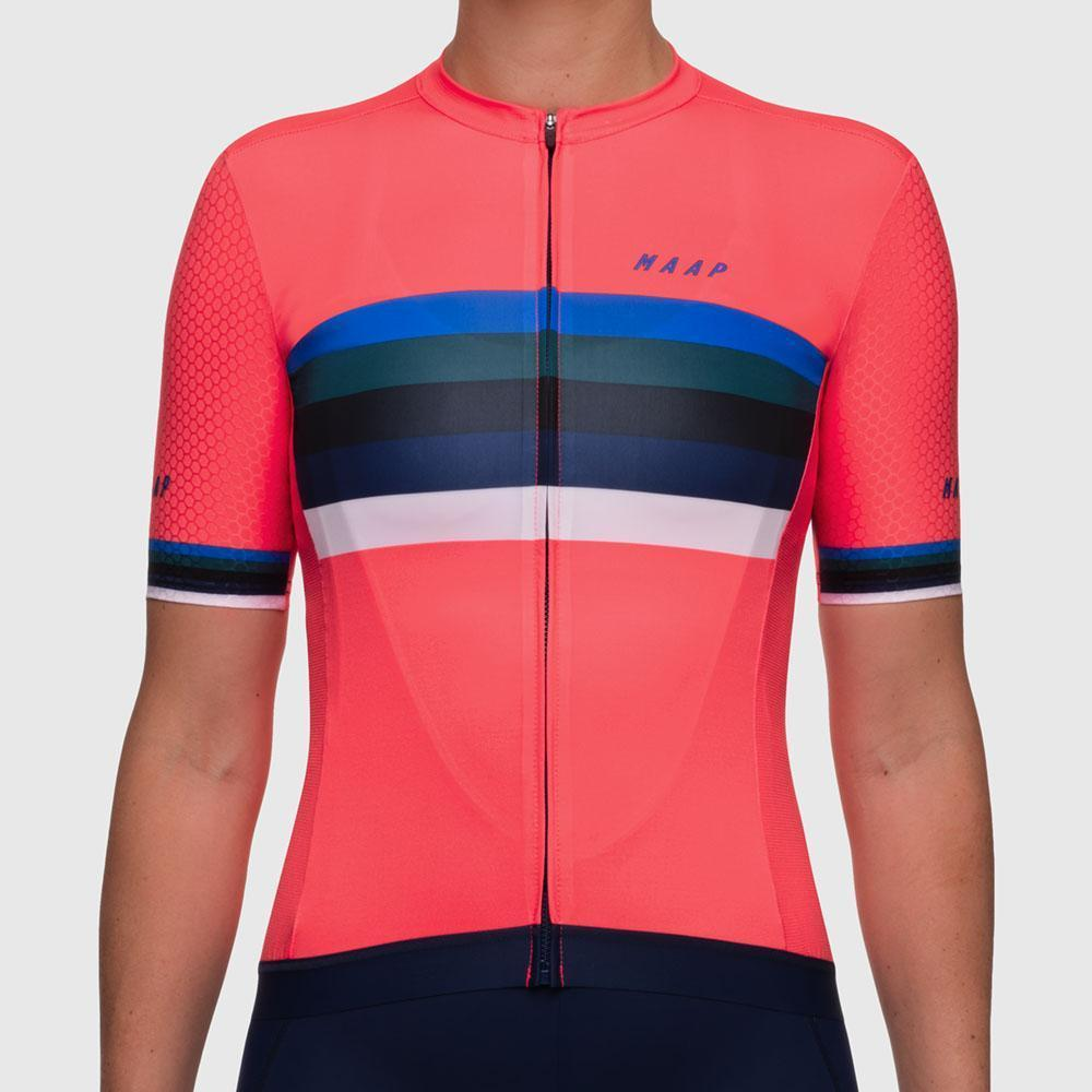 Women's World Pro Hex Jersey - Coral