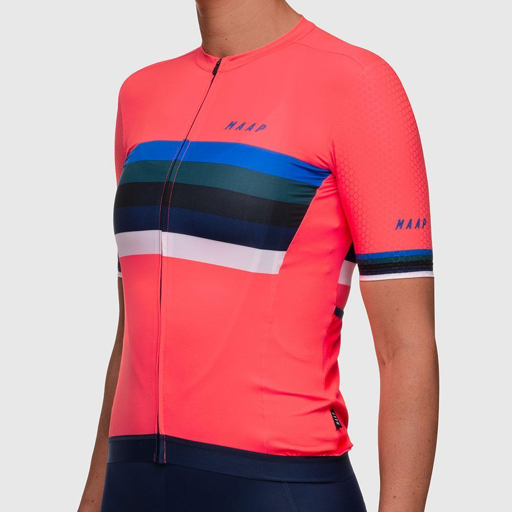 Women's Worlds Pro Hex Jersey - Coral