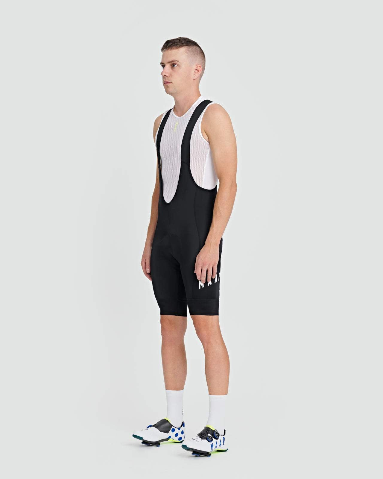 Team Bib Shorts 3.0 - Black/White