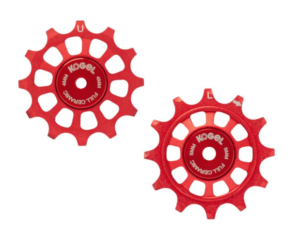 12T 'Not for Instagram' Pulleys 11spd - Full Ceramic (Engine Red)