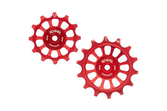 12/14T Oversized Pulleys for Shimano R9100 - Road