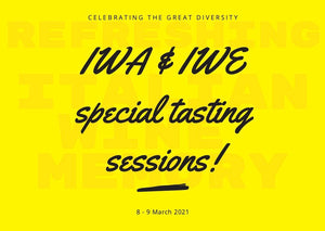 IWA & IWE special tasting sessions