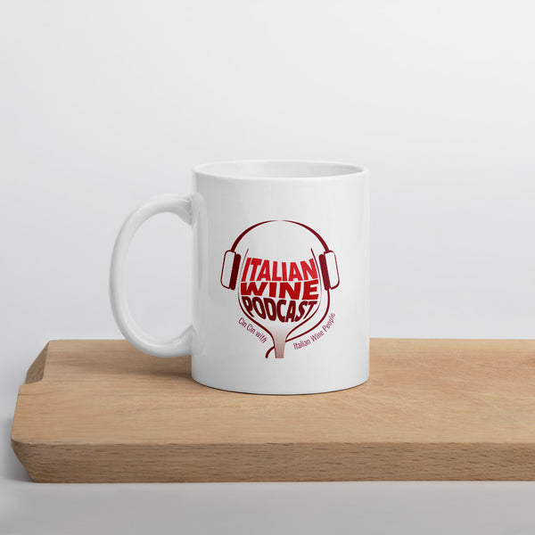 Italian Wine Podcast Mug