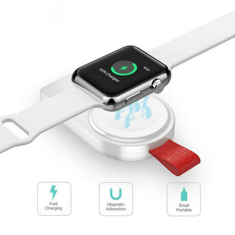 Portable Wireless USB Charger Charging for iWatch Apple