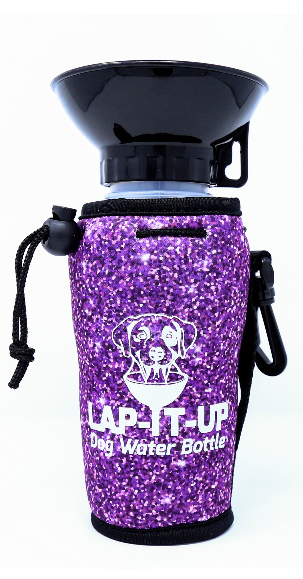Lap-It-Up Dog Water Bottle - Glitter