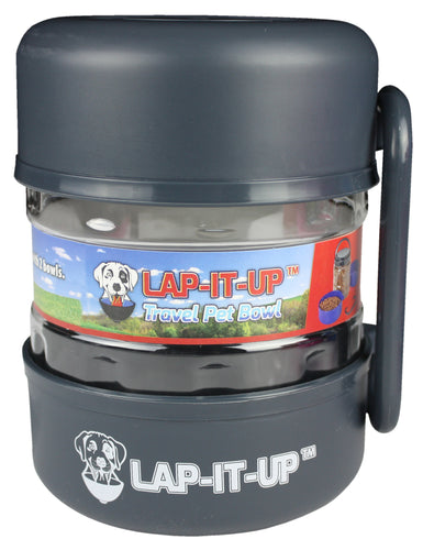 Lap-It-Up Pet Travel Kit - Black