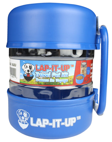 Lap-It-Up Pet Travel Kit - Blue