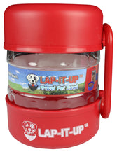 Load image into Gallery viewer, Lap-It-Up Pet Travel Kit - Red