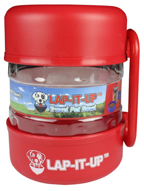 Lap-It-Up Pet Travel Kit - Red