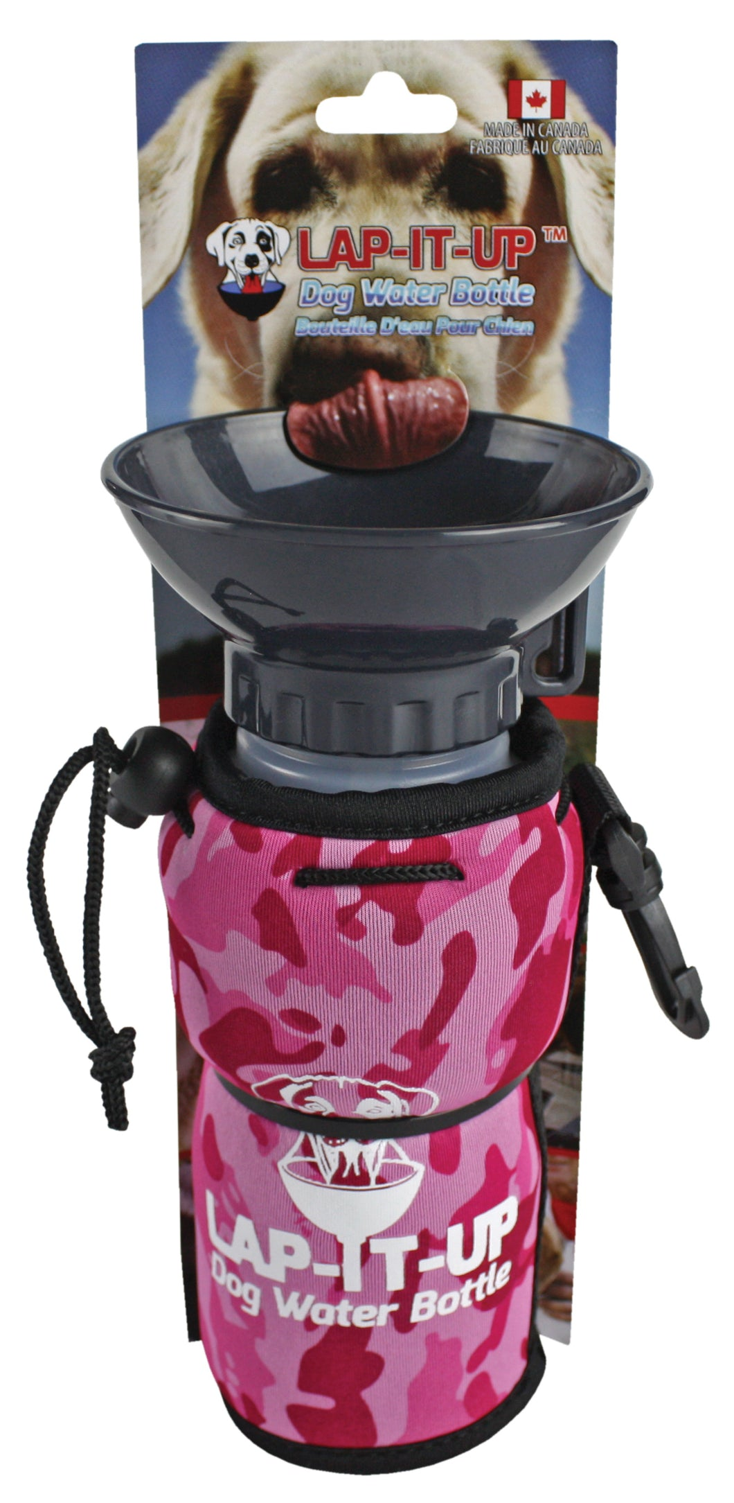 Lap-It-Up Dog Water Bottle - Pink