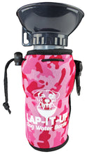 Load image into Gallery viewer, Lap-It-Up Dog Water Bottle - Pink