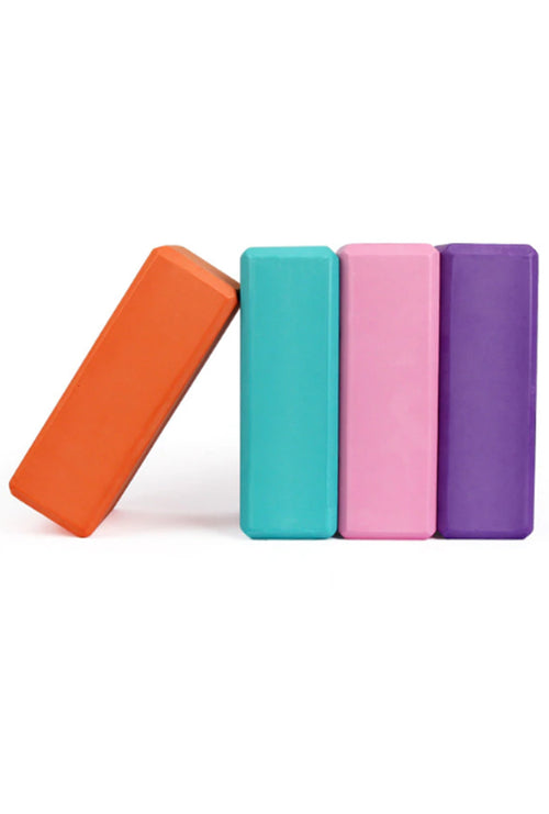 YOGA BLOCKS - COLORFUL