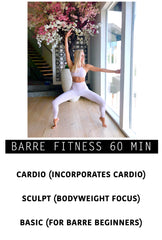 BARRE CUSTOM 60 MIN
