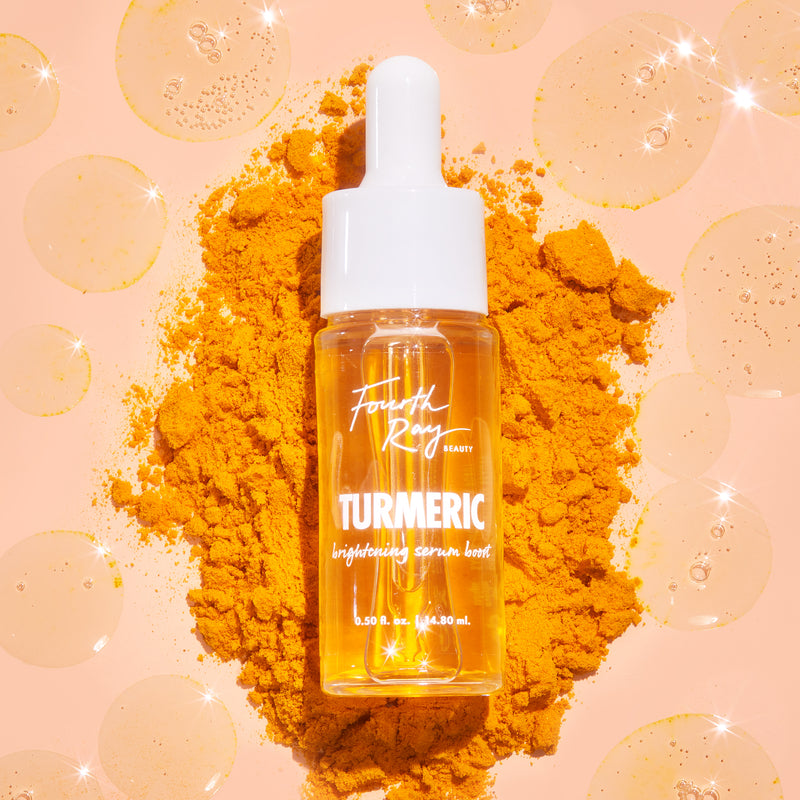Fourth Ray Beauty Turmeric Face Brightening Serum Booster