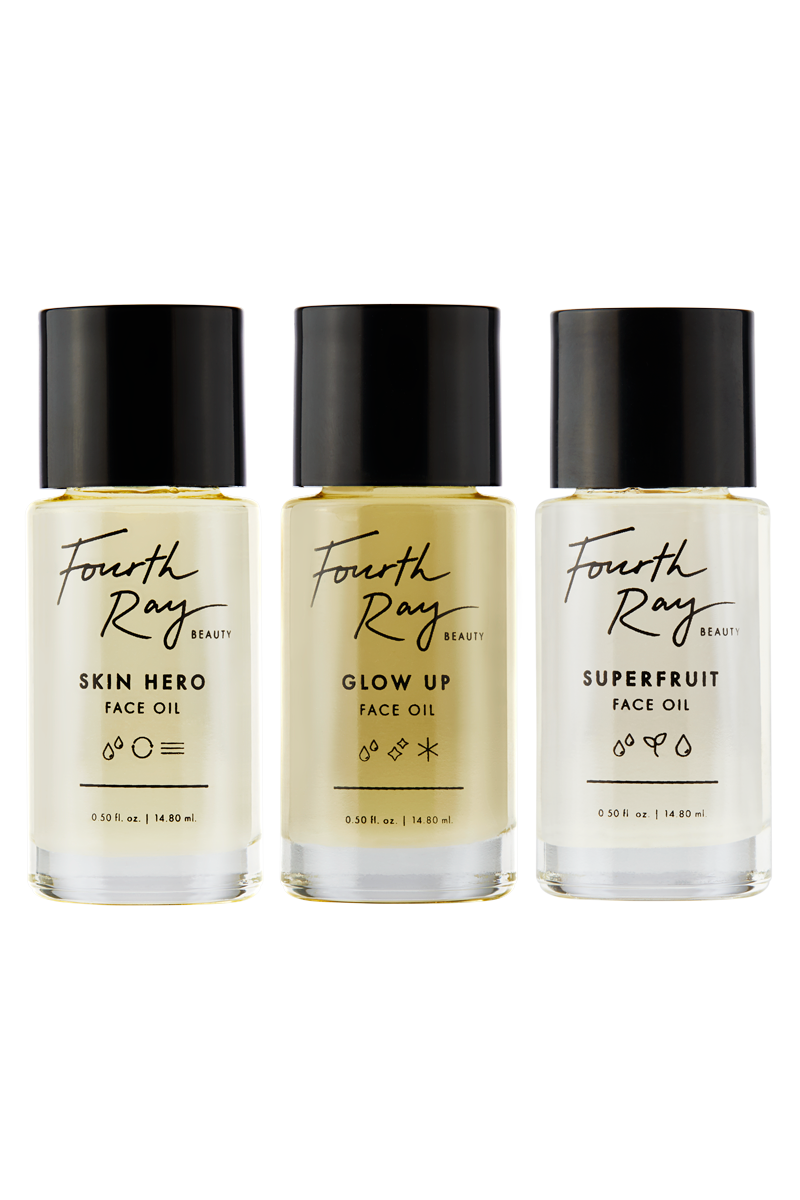Face Oil Blend Flight