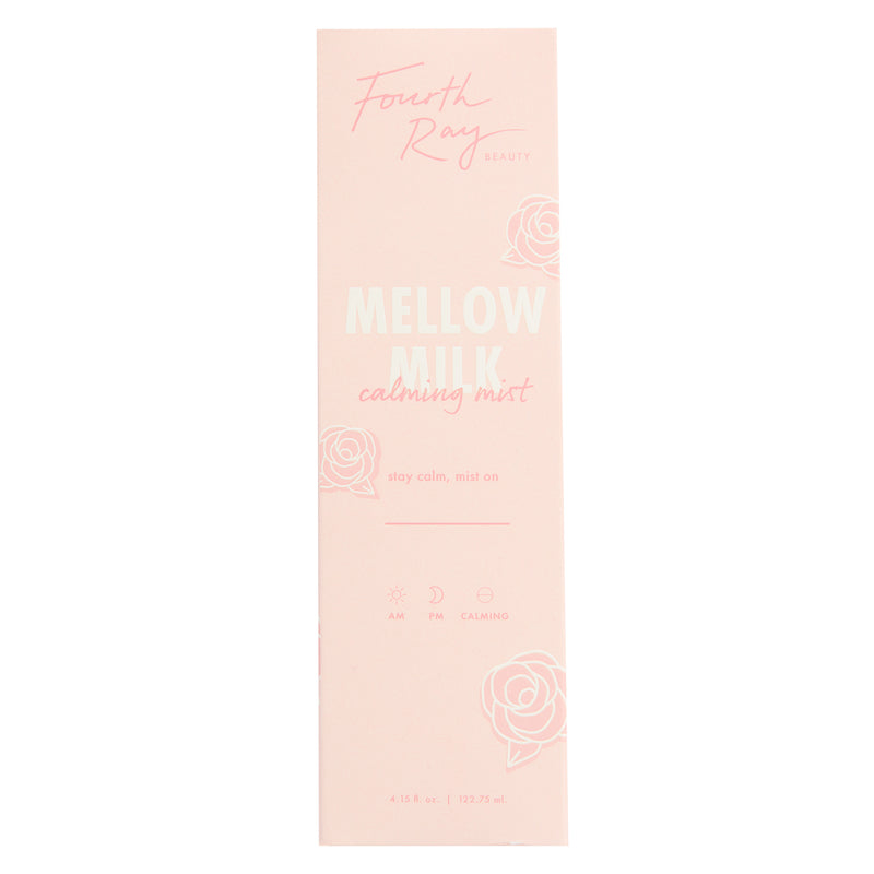 Mellow Milk Mist inside packaging  in white background