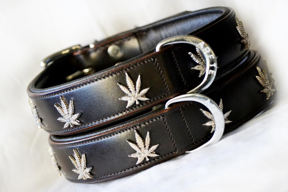 Marijuana styled Collar