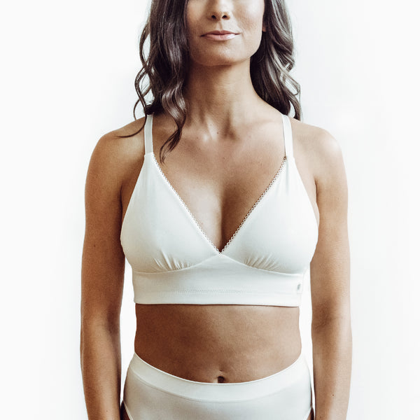 0ecde980b MAKEMERRY Pocketed Plunge Bra for Breast Cancer