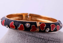Swarovski Love Hearts Bangle Bracelet