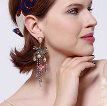 Swarovski Chandalier Butterfly Earrings