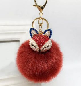 Cinnamon Doll Purse Charm Keychain