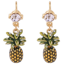 Swarovski Luxe Pineapple Earrings