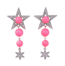 Swarovski Starry Pink Bauble Earrings