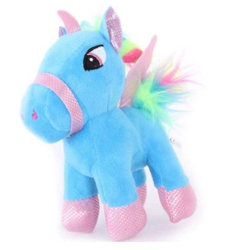 Blue Unicorn BackPack Clip Stroller Clip
