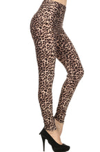 Leggings New With Tags Black Taupe Cheetah Buttery Soft One Size Fits 0-14